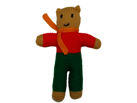 Baldwin Bear Knitted Toy