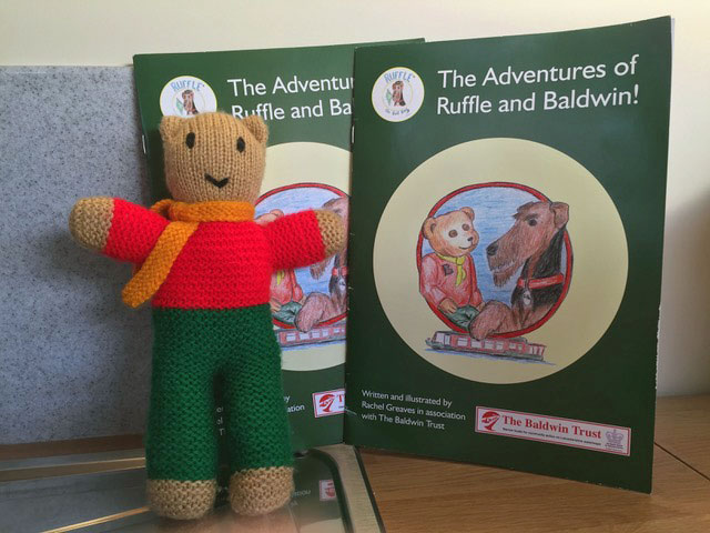 Baldwin Bear Bear & Book